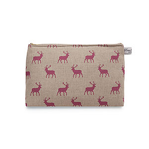 Stag Wash Bag - make-up & wash bags