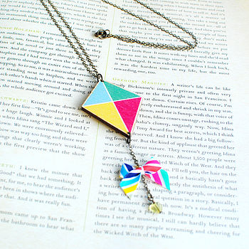 Fly A Kite Necklace