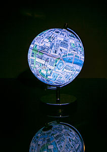 Illustrated London Night Light - children's room accessories
