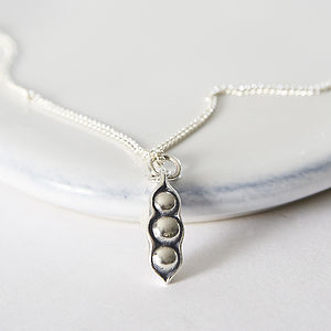 Three Peas In A Pod Necklace - women's jewellery
