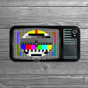 Retro Tv iPhone Case - stocking fillers under £15