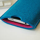 Felt Sleeve For IPhone