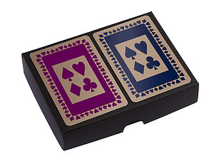 Boxed Playing Cards - toys & games