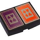Boxed Playing Cards