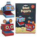 Create Your Own Robot Puppets Activity Kit
