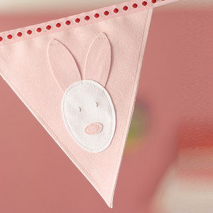 Bunny Personalised Bunting - children's room accessories