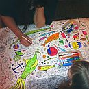 Colour Crazy Your Own Tablecloth