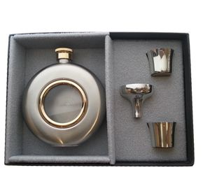 Engraved Round Hip Flask Limited Edition - flasks