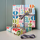 Fancy Letters & Numbers Wrap