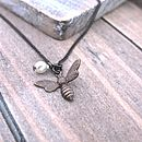 Vintage Style Bee Necklace