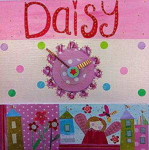 Fairy Clock - baby's room