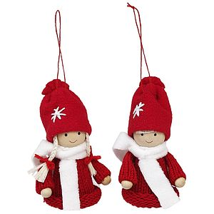 Feltcraft Red Pompom Children Kit