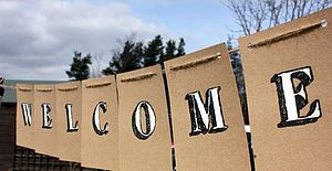 'Welcome' Bunting - party decorations