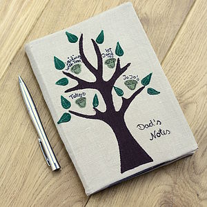 Personalised Tree Of Life Notebook