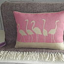 Flamingo Cushion And Throw Collection