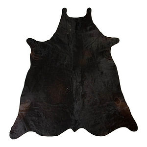 Cow Hide Rug - bedroom