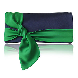 Piper Satin Clutch More Colours Available - bags & purses