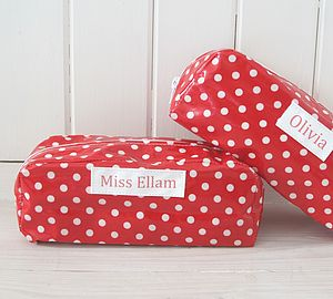 Personalised Spot Pencil Case