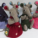 Personalised Toy Shrew