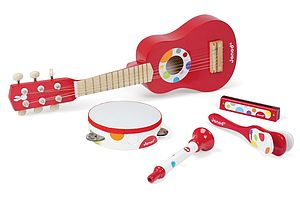 Wooden Musical Instruments - traditional toys & games