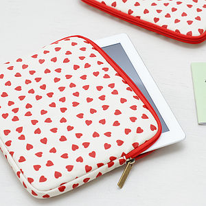 Hearts iPad Case - men's accessories