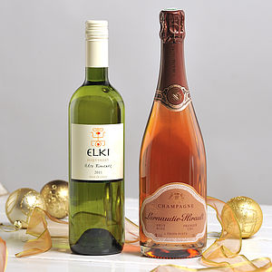 Mum's Christmas Tipple Two Bottle Wine Gift