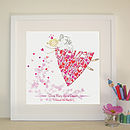 Personalised Love Fairy Print