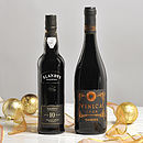 Dad's Christmas Snifter Two Bottle Wine Gift
