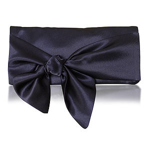 Hope Satin Clutch - clutch bags