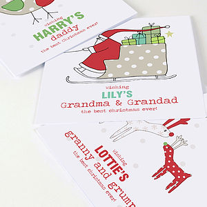 Christmas Card From Your Child - cards
