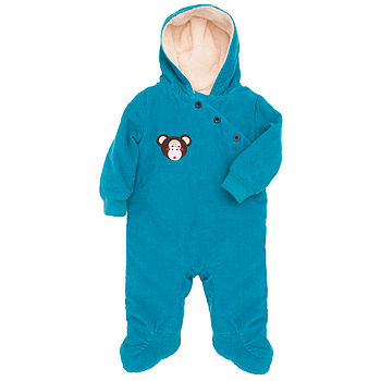 Michael The Monkey Cord Snowsuit