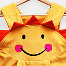 Sunshine Smiley Face Girls Dress