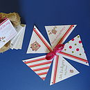 matching personalised bunting available