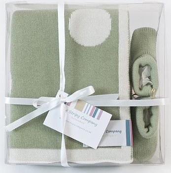 Cotton polka dot gift set