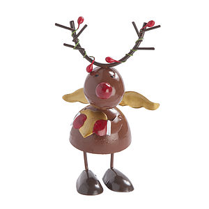 Tin Wobble Snowman Or Reindeer