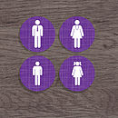 Personalised 'Family' Coasters