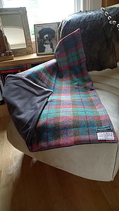 Harris Tweed Throw