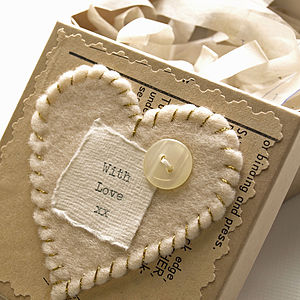 Embellished Gift Box - ribbon & wrap