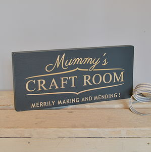 Engraved Sign For Mummy