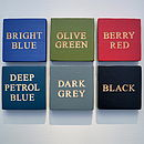 colour options for winning works engraved signs