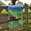 Red Tractor Boys Farm Cot Quilt