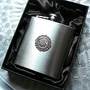 Birthday Coin Hip Flask