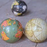 Globe World Hanging Decoration - christmas