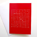 Christmas Word Search Card