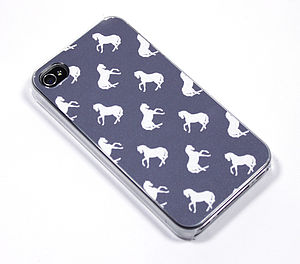 Polka Dot Horse Case For iPhone - bags & purses