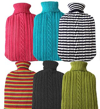 Pure Cashmere Large Hot Bottle Covers