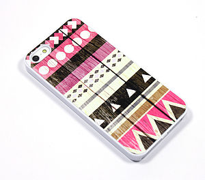 Geometric Aztec Design Case For Iphones - bags & purses