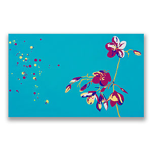 Secret Garden Original Aluminium Painting - home accessories