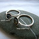 Curious Crater Stacking Ring