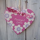 Flowergirl Heart_Candy Pink